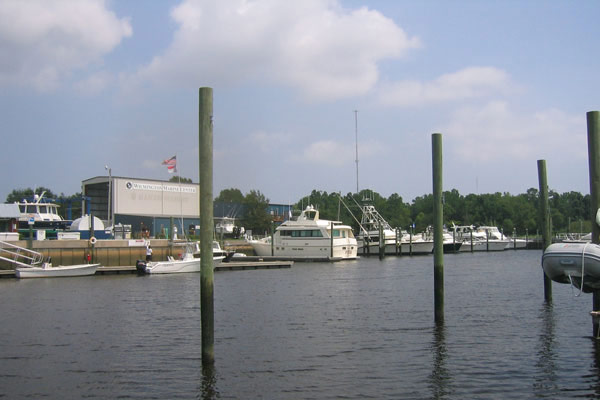 Marina-at-water-level