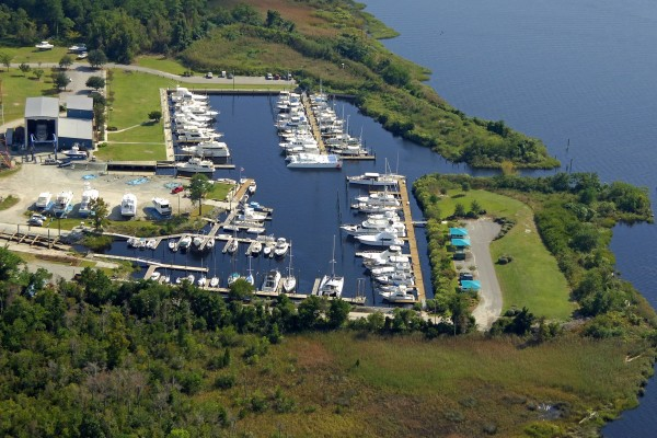 Aerial Photo from Marinas com