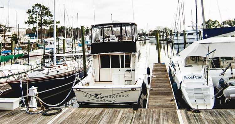 Wilmington Marine Boat Slip