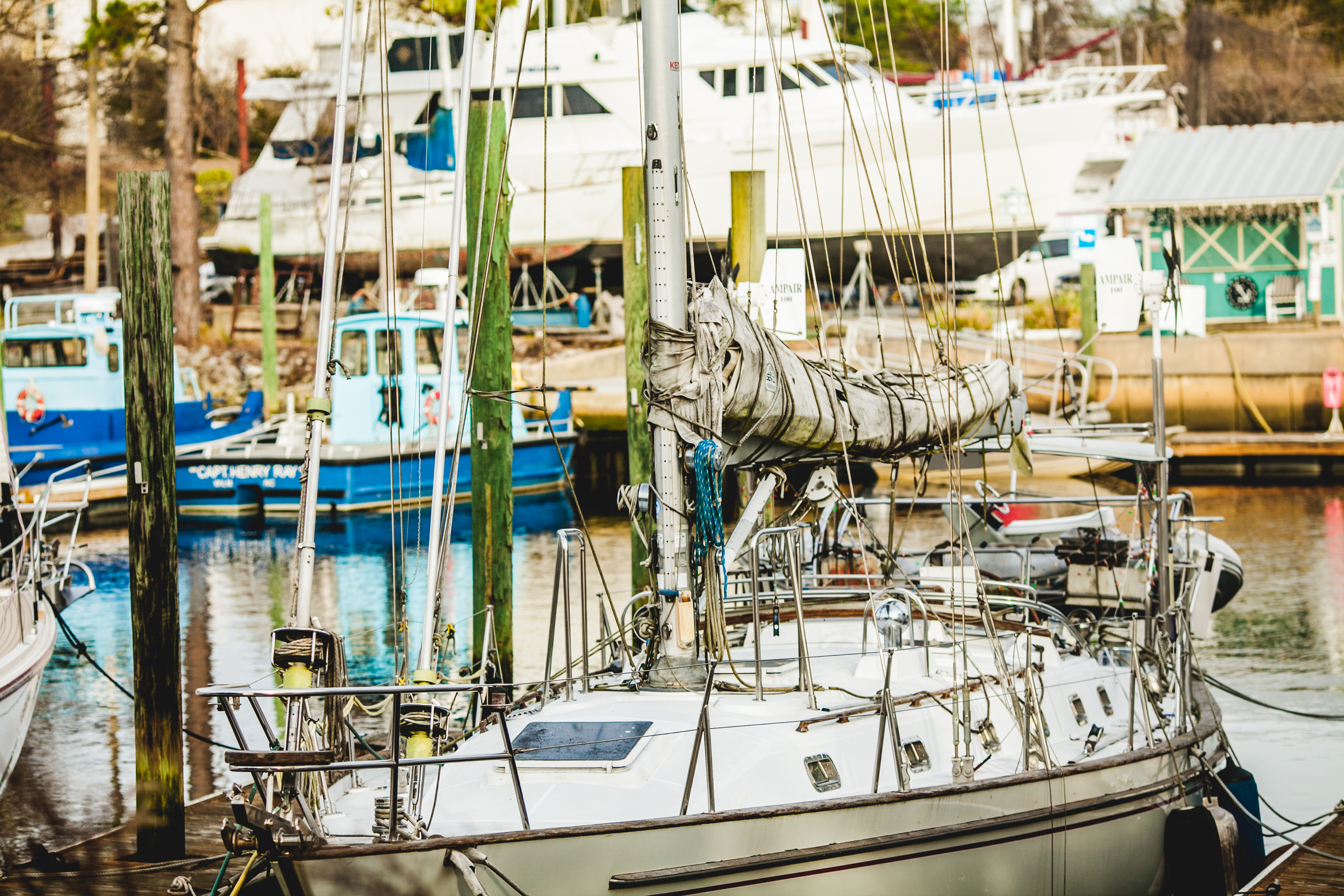 sailboat wilmington marine center