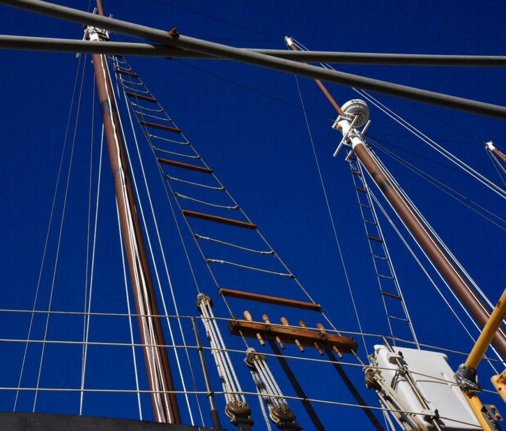 sailboat rigging - Wilmington Marine Center