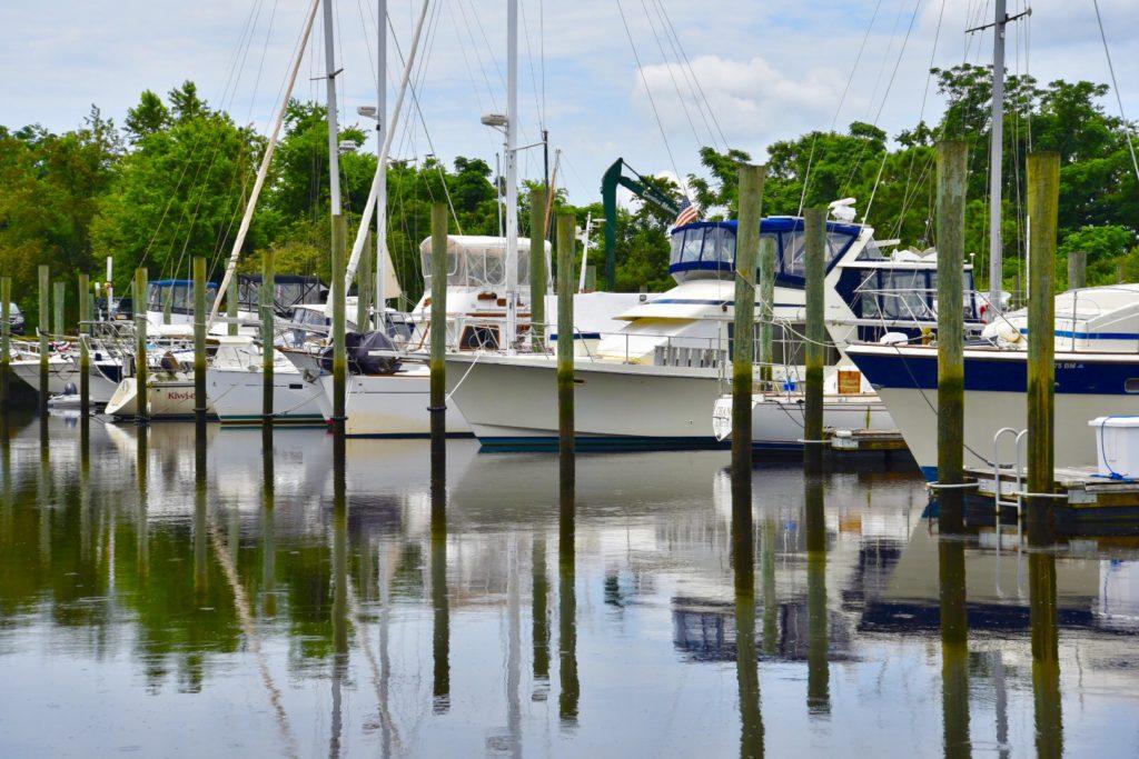 wilmington marine center boat dock