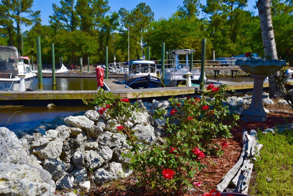 wilmington marine dock view