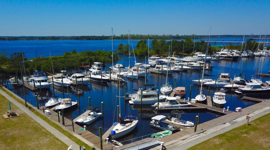 Wilmington Marine Center Dock